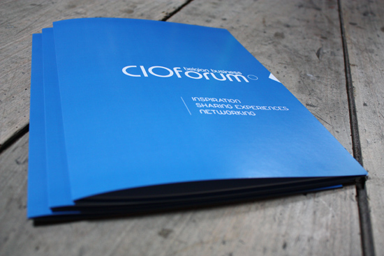 cioforum kaftje folder drukwerk