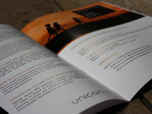 Unicon corporate brochure