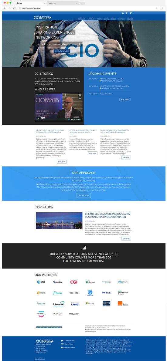 cioforum website homepage